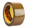 Balicí páska Scotch - extra pevná, hnědá, 50 mm x 66 m, nehlučné odvíjení, 1 ks