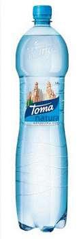 Pramenitá voda Toma Natura - neperlivá, 1,5 l, PO KUSECH !!!