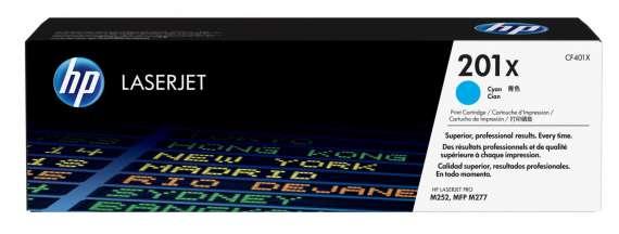 Toner HP CF401X/201X - azurový