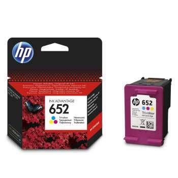 Cartridge HP F6V24AE, č. 652 - 3 barvy