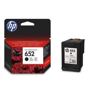 Cartridge HP F6V25AE, č. 652 - černý