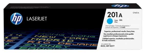 Toner HP CF401A/201A - azurový