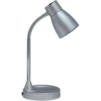 Stolní lampa TINA Ecolite - stříbrná