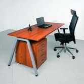 Psací stůl Intebo AMPLA 800, ořech