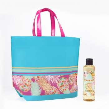 Sada Yves Rocher - plážová taška Pop Exotic a sprchový gel