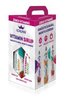 Sirup Korunní Vitamín (trojkombinace)
