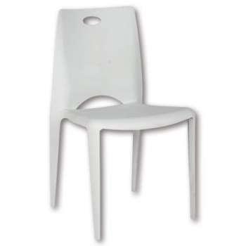 Konferenční židle RS Kalio - bílá