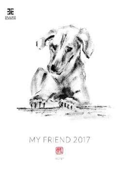 Nástěnný kalendář 2017 My Friend