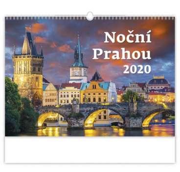Nástěnný kalendář 2018 Pražské noci