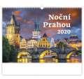 Nástěnný kalendář Pražské noci
