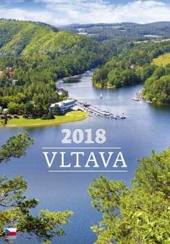 Nástěnný kalendář 2018 Vltava