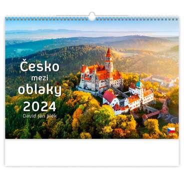 Nástěnný kalendář 2017 Česko mezi oblaky