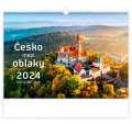 Nástěnný kalendář 2022 Česko mezi oblaky