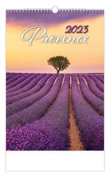 Nástěnný kalendář 2017 Provence