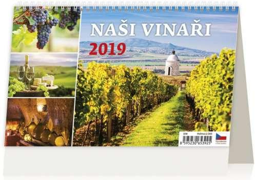Stolní  kalendář 2018  Naši Vinaři