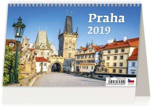 Stolní  kalendář 2018  Praha
