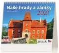 Stolní kalendář MiniMax Naše hrady a zámky