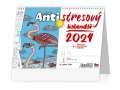 Stolní antistresový pracovní kalendář 2022