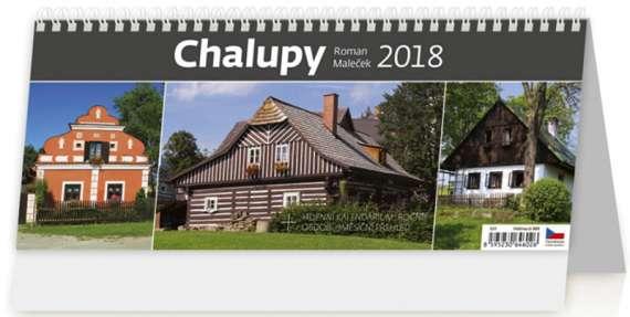 Stolní  kalendář 2018  Chalupy