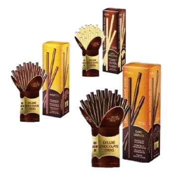 DÁREK: Belgické čokoládové tyčinky DELUXE (3 x 125 g)
