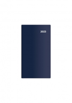 Diář 2017 Torino - čtrnáctidenní, modrý