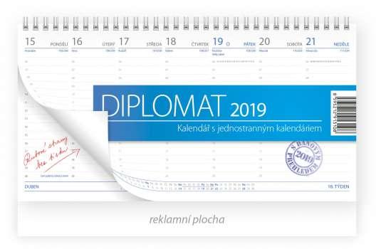 Stolní kalendář 2017 Diplomat