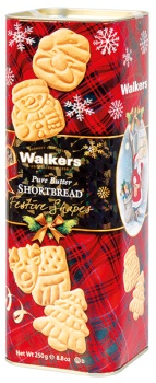 DÁREK: Walkers tradiční máslové sušenky v dárkovém balení ZDARMA