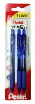 Gelový roller Pentel Energel X 05 modrý 2+1