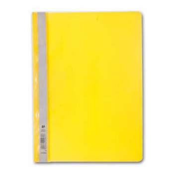 Rychlovazače - A4, plastové, žluté, 25 ks