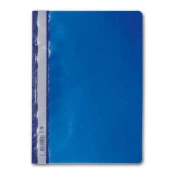 Rychlovazače - A4, plastové, tmavě modré, 25 ks