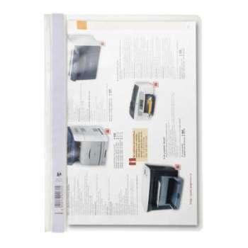 Rychlovazače - A4, plastové, bílé, 25 ks