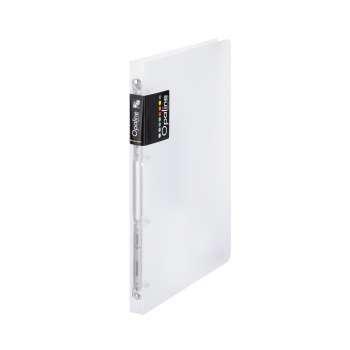 Čtyřkroužkový pořadač Opaline - A4, hřbet 2 cm, čirý