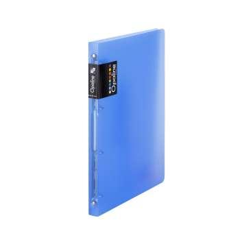 Čtyřkroužkový pořadač Opaline - A4, hřbet 2 cm, modrý