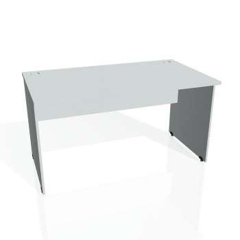 Psací stůl Hobis GATE GS 1400, šedá/šedá
