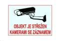 XtendLAN Bezpečnostní samolepka - kamerové systémy