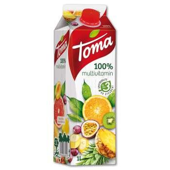 Džus Toma nektar - multivitamin, 1 l