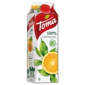 Džus Toma - 100% pomeranč, 1 l