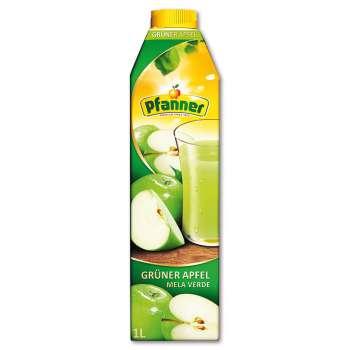 Džus Pfanner - zelené jablko, 1 l