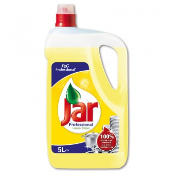 Prostředek na mytí nádobí Jar Expert - citron, 5 l