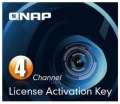 QNAP licenční balíček pro 4 IP kamery