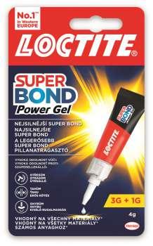 Vteřinové lepidlo Super Attak Gel, 3 g