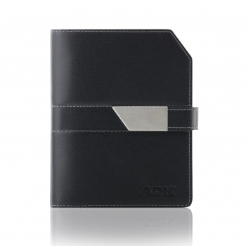 Diář ADK New Elegant A6 - černý