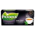Černý čaj Pickwick Ranní Earl Grey, 20x 1,75 g
