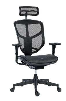 Kancelářská židle Enjoy Basic - černá