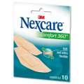 Náplasti - Nexcare Comfort 360, 10 ks