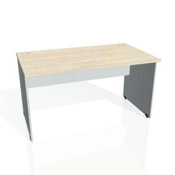 Psací stůl Hobis GATE GS 1400, akát/šedá