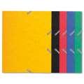 Prešpánové desky s chlopněmi a gumičkou Exacompta A5 - mix barev