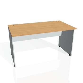 Psací stůl Hobis GATE GS 1400, buk/šedá