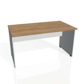 Psací stůl Hobis GATE GS 1400, višeň/šedá