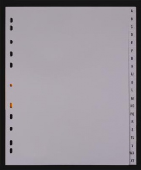 Rejstřík Office Depot plastový A4 MAXI, A-Z